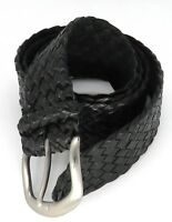 """""""Jumbuck"""" Hand Plaited 12 plait Kangaroo Leather Belt - Handcrafted in Australia"""
