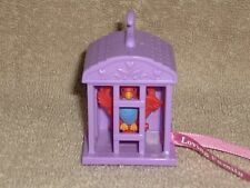 Fisher Price Loving Family Dollhouse Purple Bird Cage Sweet Sounds Heart