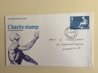 "Post Office First Day Cover ""Charity Stamp"" 1975"