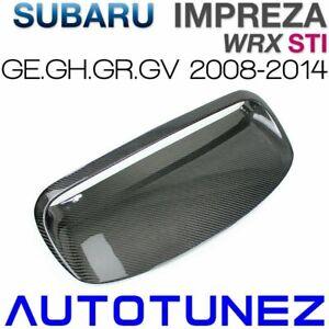 Kohlefaser-Lufthauben-Schaufel-Einlass-Entlüftungshaube für Subaru WRX STI GE GH