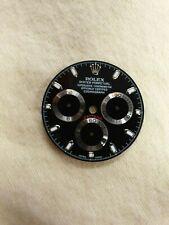 Rolex Daytona  dial  Black 116520