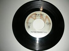Peter Frampton - I'm In You / St. Thomas (Know How I Feel) 45 A&M VG VG+1977