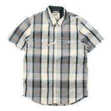 Vans Averill Classic Fit Short Sleeve Check Shirt - S