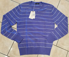 Men VANCL Striped Machine Wash Wool Sweater  XL NWT