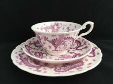 TUSCAN DRAGONS VINTAGE CUP SUCER AND PLATE PALE PINK