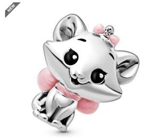 nwt DISNEY X Pandora Favorites THE ARISTOCATS Charm MARIE Cat Bead 798848C01
