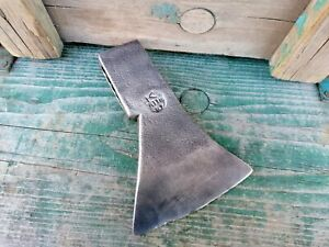 The old Ax Axe hatchet  Made in Poland