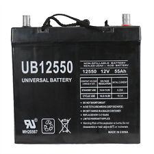 UPG UB12550 12V 55AH Battery for Invacare Pronto M94, M91 Wheelchair