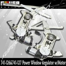 Front Left+Right Power Window Regulator for 94-04 Mustang Base Coupe 2D