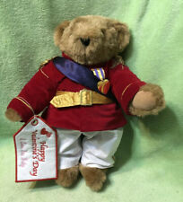 Vermont Teddy Bear Movable Arms & Legs Prince Charming Has Valentine Accessory