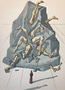 Salvador Dalí La Divine Comedy Dante All Simonists