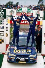 Colin McRae Subaru Impreza 555 Winner New Zealand Rally 1995 Photograph 2