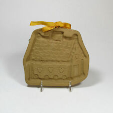 Brown Bag Cookie Art 1985 Gingerbread House & Recipe Book Clay Mold Retired