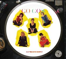 """The Go-Go's - Our Lips Are Sealed Ultra Rare 12"""" Picture Disc Promo Single LP"""