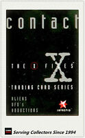 Australia Intrepid The X-Files Contact Trading Card PROMOTION CARD