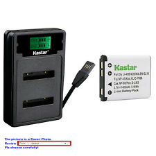 Kastar Battery LZD2 USB Charger for Kodak KLIC-7006 Kodak Easyshare M552 Camera