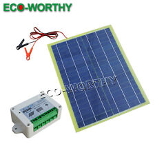20W SOLAR PANEL FOR CHARGING BATTERY CAR POWER FOR CAMPING HIKING RV HOME