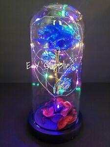 Eternal Rose Flower LED Enchanted Galaxy Rose Girlfriend Valentine's Gift