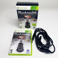 Rocksmith Microsoft Xbox 360 2011 Game With Real Tone Cable In Box Guitar Pick