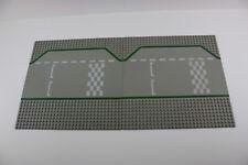 Lego® 425p01 2 Platten  Rennstrecke Box Straße gerade grau F1 Pit 32x32 road