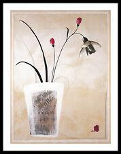 Monique Chanut Gaelle Cicarda I Poster Bild Kunstdruck im Alu Rahmen 71x56cm