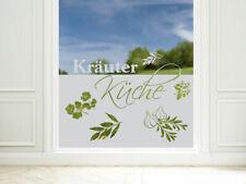 Sichtschutzfolie Küche Küchenfenster Kräuter Fensterfolie Glasdekor Fenster Glas