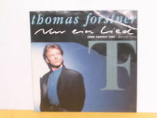 "SINGLE 7"" - THOMAS FORSTNER - NUR EIN LIED - SONG CONTEST 1989"