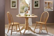 Country Round Kitchen & Dining Tables with Flat Pack