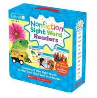 Nonfiction Sight Word Readers Parent Pack Level B: Teaches 25 Key Sight Words to