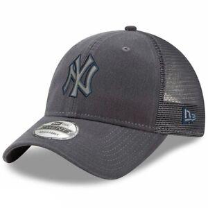 New York Yankees New Era 9Twenty Trucker's Velocity Adjustable Cap Hat $28