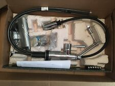 BNIB Brizo Solna 64221LF-PC Articulating Arm Kitchen Faucet SmartTouch In Chrome