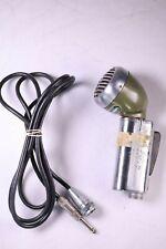 Shure 520-SL High Impedance Green Bullet Microphone Vintage 1950s 520SL