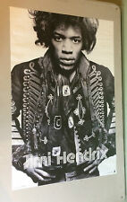 Vintage Poster Jimi Hendrix Import Images Pin-Up Rock Roll Psychedelic picture