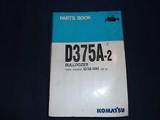 KOMATSU D375A-2 CRAWLER TRACTOR DOZER BULLDOZER PARTS BOOK MANUAL