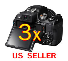 3pcs Fujifilm FinePix HS25EXR Clear LCD Screen Protector Guard Shield Film