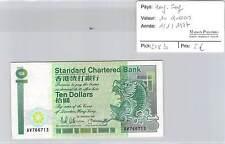BILLET HONG-KONG - 10 DOLLARS - 1-1-1987