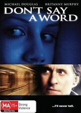 Don't Say A Word (DVD, 2010)