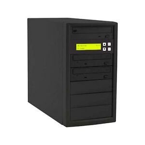 1 to 2 Target 24x SATA DVD CD Duplicator Tower Burner Multiple Disc Copier