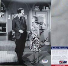 CLASSIC!! Patty Duke William Schallert Signed THE PATTY DUKE SHOW 8x10 Photo PSA