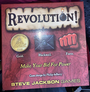 Revolution! Board Game, Steve Jackson Used