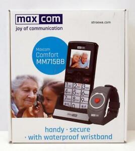 Maxcom MM715 Großtastenhandy mit Notrufarmband