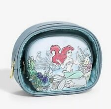Loungefly Disney The Little Mermaid Under the Sea Cosmetic Bag NEW
