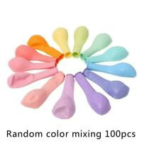 100Pcs/set Macaron Latex Balloons Baby Birthday Wedding 10' Party Decoratio F4B8