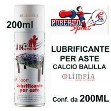 JK SPORT Roberto Sport - BOMBOLETTA Spray LUBRIFICANTE ASTE CALCIO BALILLA 200ml