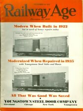 1935 Railway Age Magazine: Charles H. Ewing Reading & Central of New Jesey Dies