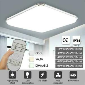 LED Ceiling Light Square Panel Down lights Wall Living Room Bedroom Kitchen Lamp