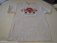 Crooks N Castles Can't Resist Killin' RARE t shirt Men's L ash grey heather NEW