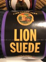 Lion Brand Suede 3 oz 122 yds Skein Polyester 5 Bulky Knit Crochet Projects Soft