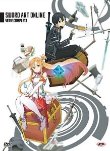 Sword Art Online - The Complete Series (Eps 01-25) (4 Dvd)