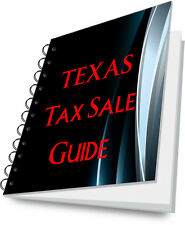 TEXAS State Guide To Buying Tax Deeds For REI REO